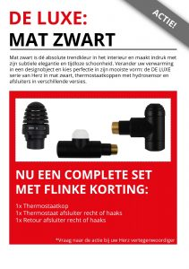 mat zwart radiatordesign herz nederland